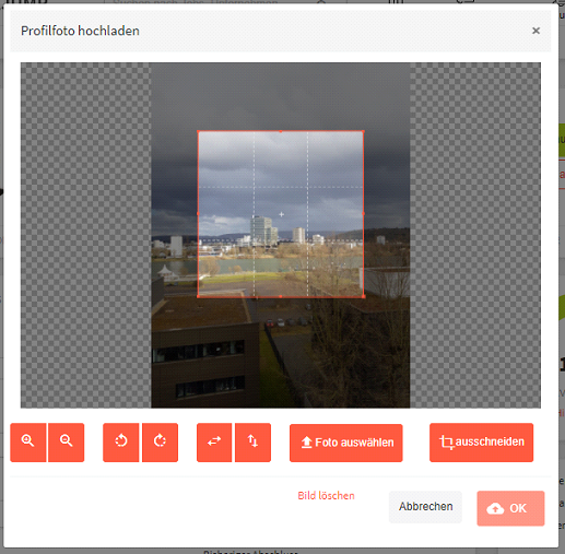 Image cropper with JavaScript